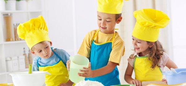 Мастер классы для детей кулинарные