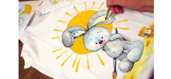 Роспись по ткани с детьми