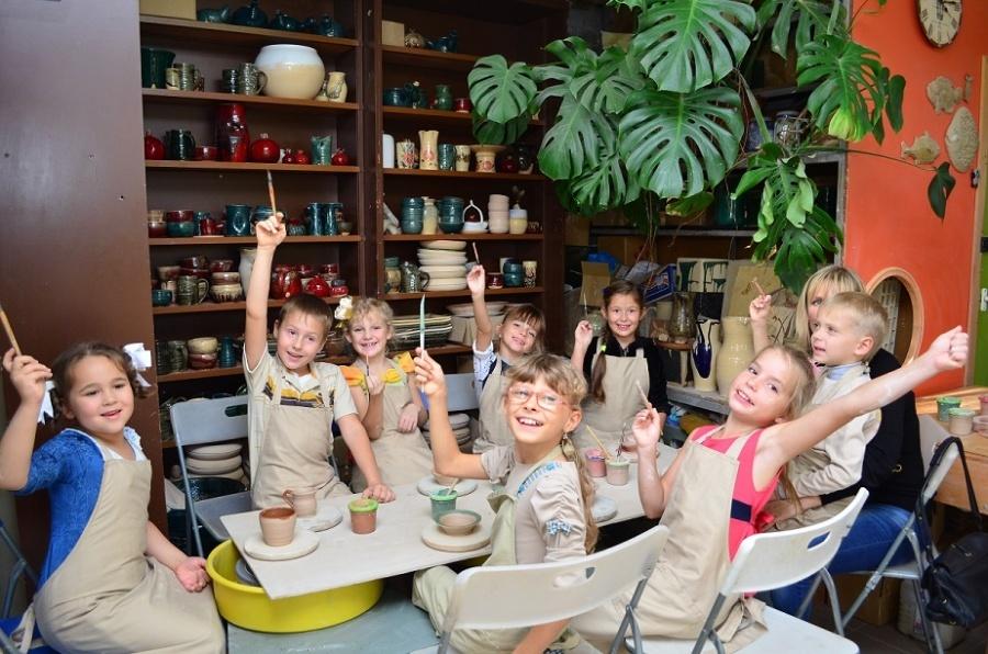 Детский День Рождения в гончарной мастерской