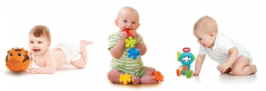 Необходимые игрушки для развития  ребенка от 0 месяцев до года