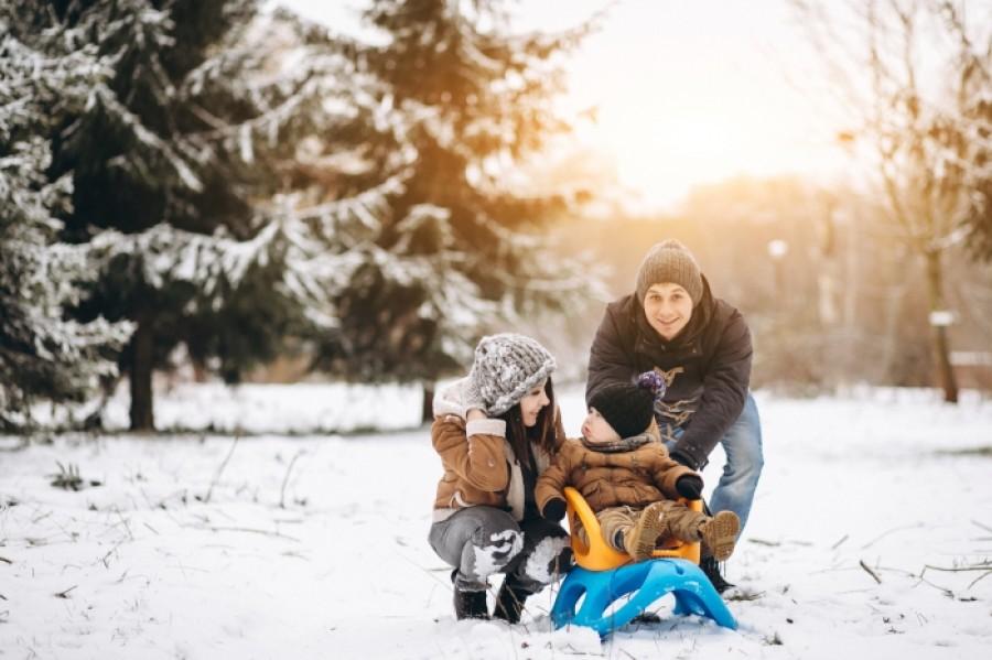 Зима в столице: где в Киеве покататься на санках