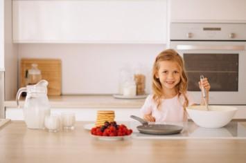 Вкусности к чаю, которые дети смогут приготовить самостоятельно