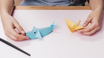 Оригами для детей: 10 простых схем для малышей