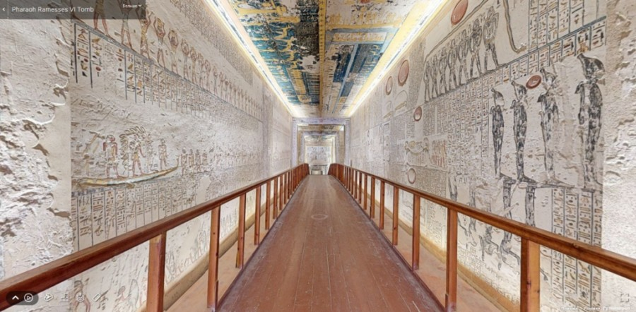 В Египте запустили бесплатные онлайн-путешествия достопримечательностями