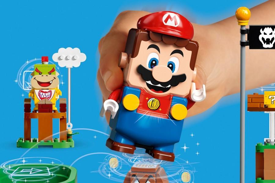 Ностальгия для родителей, новинка для детишек — LEGO Super Mario