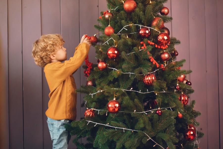 Новогодняя елка и дети: правила безопасности