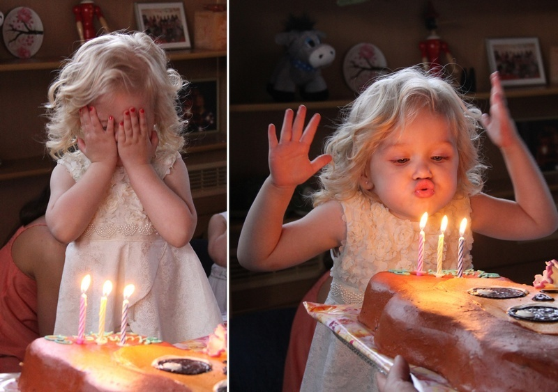 День рождения в кругу друзей