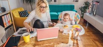 Советы родителям, которые работают удаленно дома с детьми