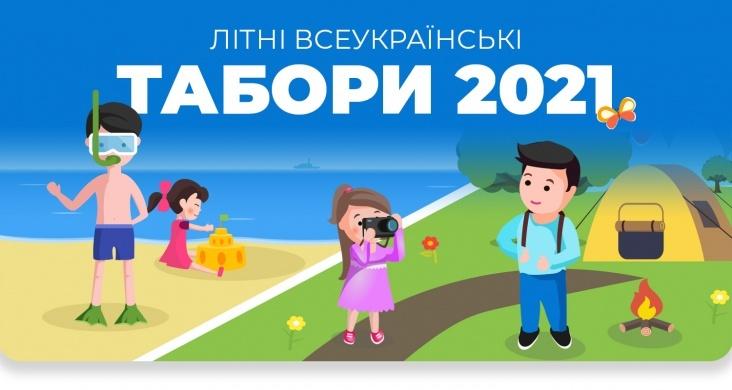 Літні табори Карпат та морського узбережжя 2021