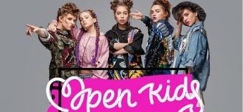 Open Kids с сольным концертом в Днепре