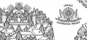 Виставка графічних робіт Альони Сторм «Locals / Міцеві. Обличчя міст України»