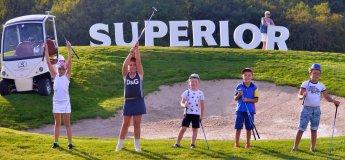 Набор в Детскую академию гольфа