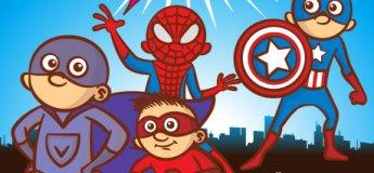 Мир комиксов  по выходным в ТРЦ Караван