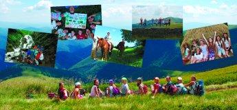 Летний лагерь для детей в Карпатах