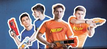 Спортивный праздник NERF Прокачка