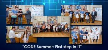 "Літня школа програмування ""CODE Summer First Step in IT 2017"""