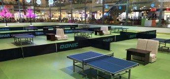 В ТРЦ Караван открылся настольный теннис