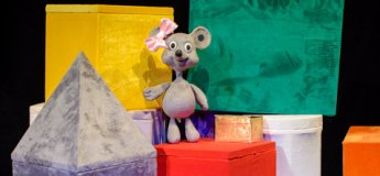 "Спектакль ""A Mouse and the pink ribbon или Мышка и розовая лента"""