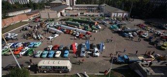 Выставка ретро машин DARS 2017
