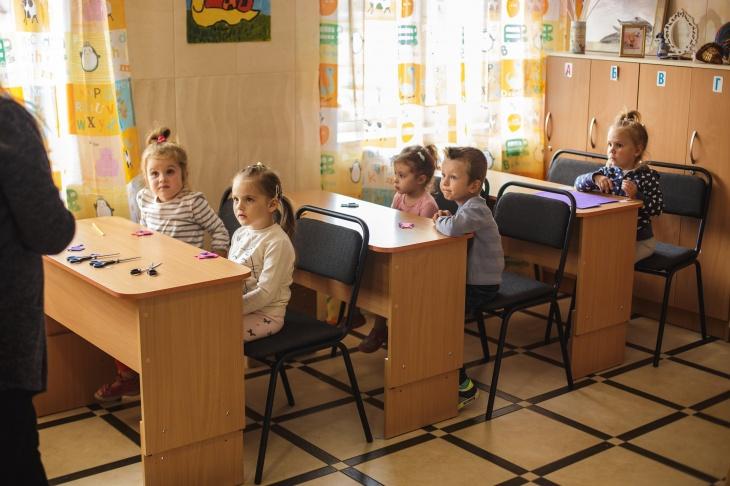 Подготовке к школе (обучение на украинском и русском языке)