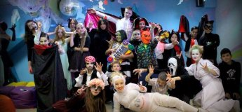Halloween party for kids в клубе Тарарам