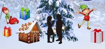 Новогодняя волшебная сказка в Семейном клубе Shalom baby