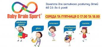 Спортивно-развивающие занятия Baby Brain Sport