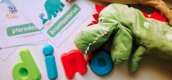 Английский урок-вечеринка о динозаврах от Tutu