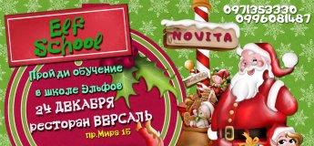 """Рождественская вечеринка """" Elf School - Школа Эльфов"""""""