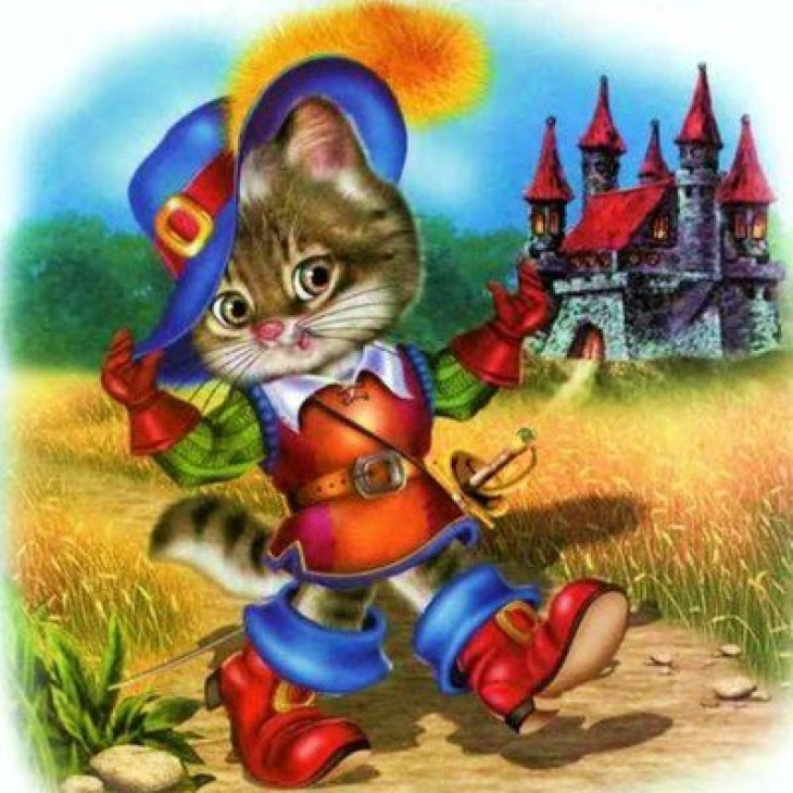 аудио сказка кот в сапогах слушать