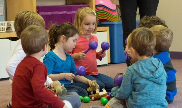 Орф-занятия в детском садике