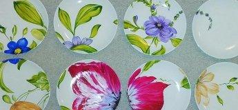 Роспись керамики. Мастер-класс по росписи тарелки