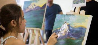 Заняття з  живопису для підлітків
