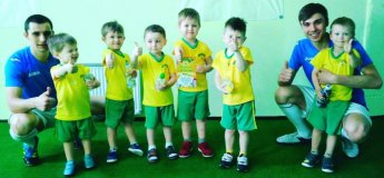 "Занятия в ""Футболенде"" по новому адресу в ТРЦ APPOLO"