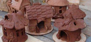 """Скульптура - лепка из природной глины и пластилина в детском центре """"ТалантВилль"""""""