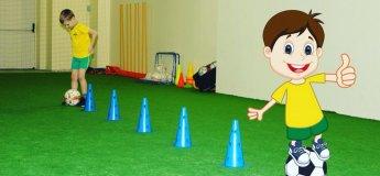 """Бесплатная тренировка в левобережном  филиале """"ФутбоЛенда"""""""