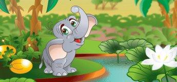 """Спектакль """"Любопытный слонёнок"""""""