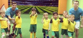 ФутбоЛенд - первая в Днепре футбольная школа для дошкольников